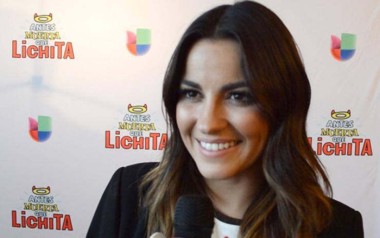 Maite Perroni Interview On Antes Muerta Que Lichita With The Latin