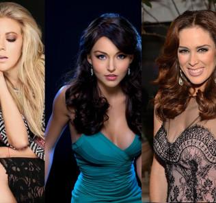Jacky Bracamontes, Angelique Boyer and Fernando Castillo; Benito Santos Most Loyal Muses