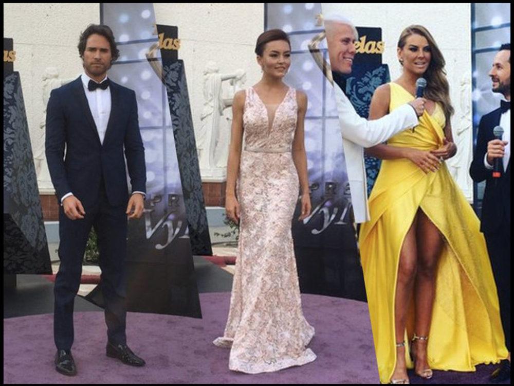 Premios TVyNovelas 2016 red Carpet moment