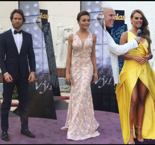 Premios TVyNovelas 2016 red Carpet moment