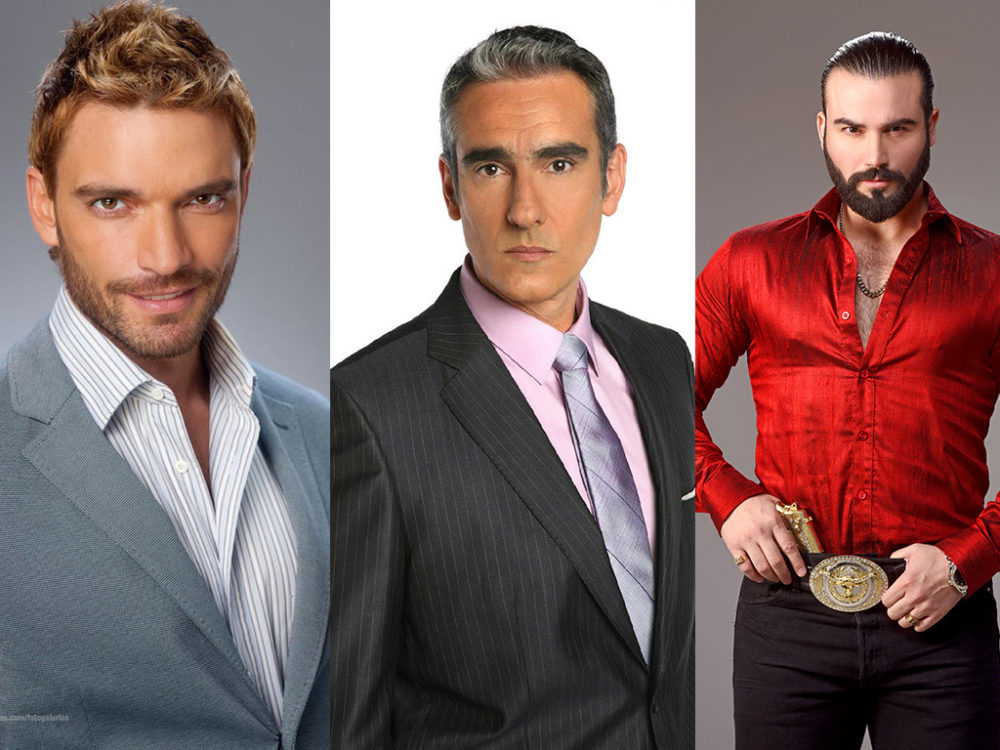 Most Hottest Male Telenovela Villains Yet!